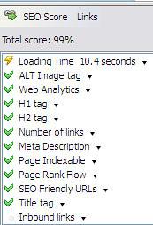 Hasil ujian SEO Doc untuk blog Bardboo