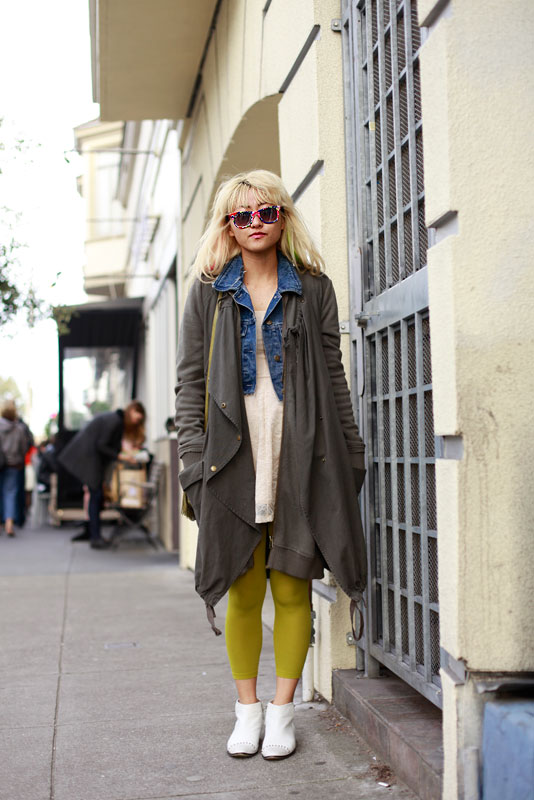 Jacqueline san francisco street fashion style