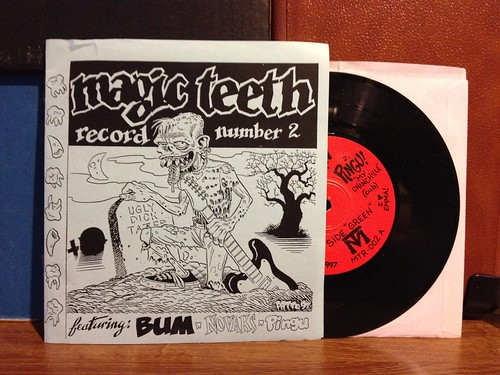 "Bum / Pingu / Novaks - Magic Teeth Record Number 2 7"" by Tim PopKid"