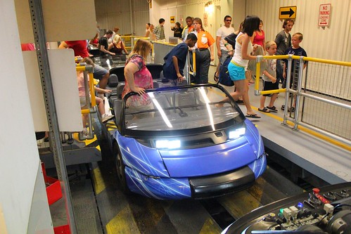 Chevrolet Design Center vehicle - Test Track at Epcot