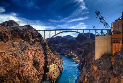 bridge arizona river nikon highway memorial colorado lasvegas dam nevada hoover hdr tillman bypass d7000