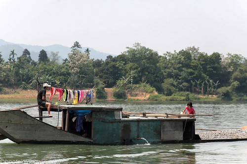 Boat on the Perfume River
