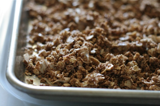 Chocolate Almond Granola 10