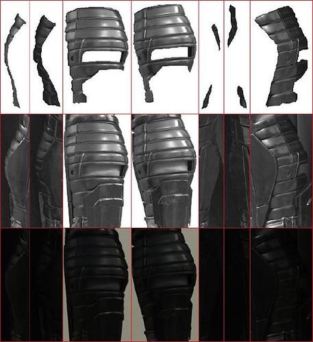 Malgus calf armor