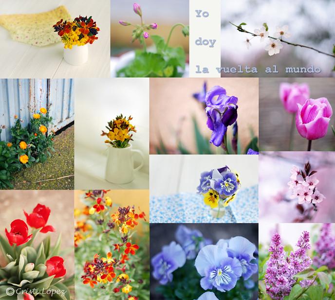 Mosaico flores