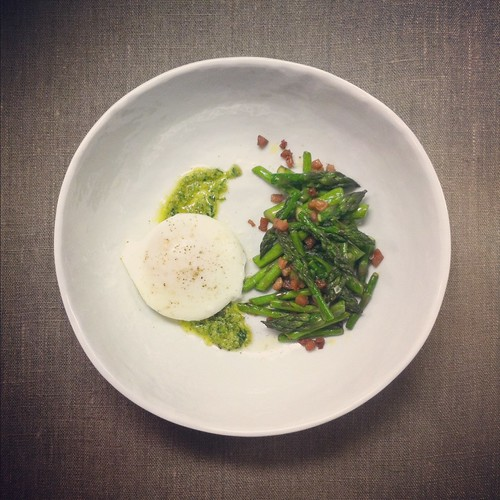 asparagus and ramp pesto
