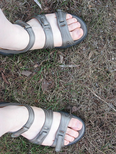 Sandals in March by susanvg