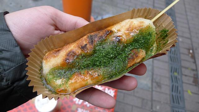 teriyaki grilled mochi