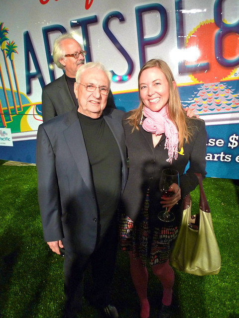 Meeting Frank Gehry!