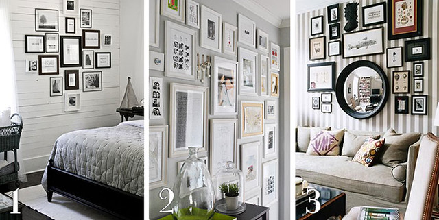 arranging a gallery wall beautiful matters. Black Bedroom Furniture Sets. Home Design Ideas