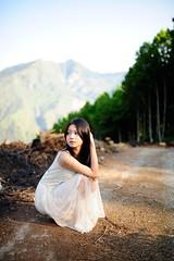 [フリー画像素材] 人物, 女性 - アジア, 台湾人, ワンピース・ドレス ID:201204062200