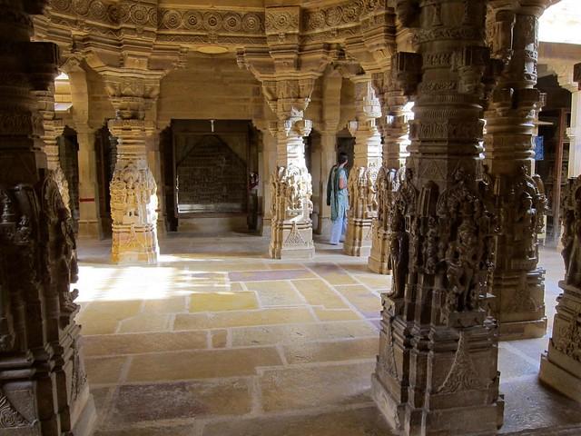 Jain temple in Jaisalmer, India