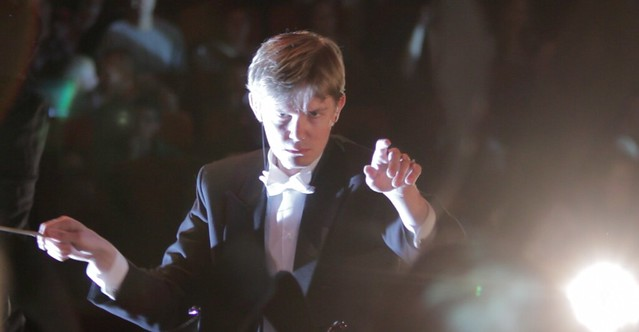 Conductor - Frederik Magle conducting a symphony orchestra 10