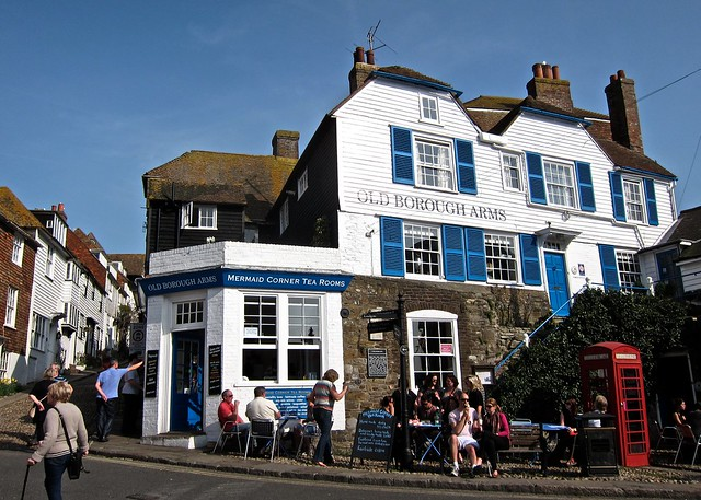 Rye town, Mermaid Corner Tea Rooms