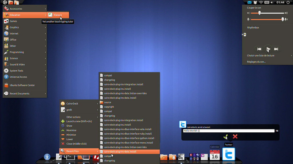 Install Cairo Dock 3 1 in Ubuntu 12 10/12 04/Mint (New