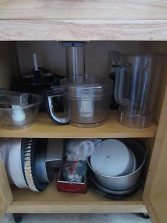 Kitchen island storage