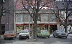 Klesforretningen Desirée i Munkegata 35 (1985)
