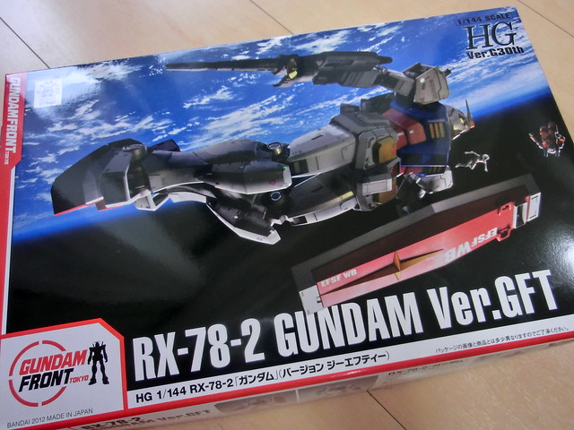 Model RG1/1 RX-78-2 GUNDAM Ver.GFT