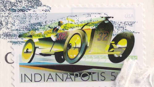 USA Indianapolis Stamp
