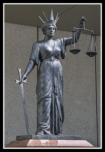 Scales of Justice Brisbane Courts-1=