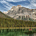 Red on Green at Yoho by Jeff Clow
