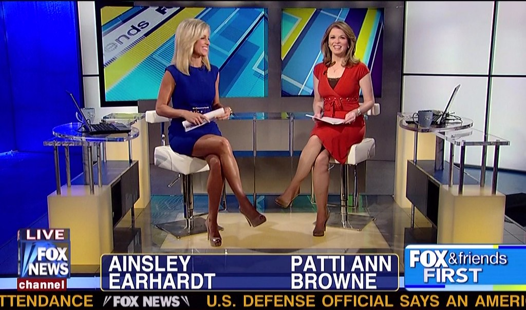 Ainsley Earhardt & Patti Ann Browne