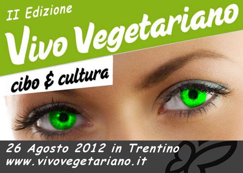"""Il logo di """"Vivo Vegetariano"""""""