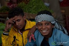 Egyptian Teenagers at Hurghada, Egypt