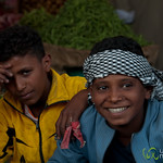Egyptian Teenagers at Hurghada, Egypt