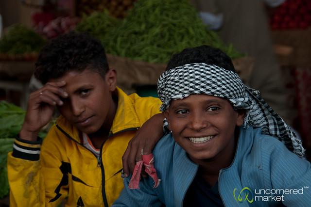 Egyptian teenagers boys