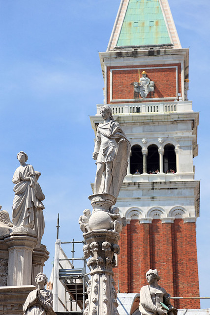 Campanile and Statues