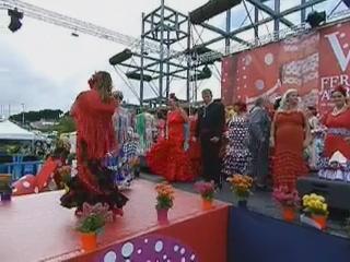 vídeo 01 Ambiente en el ferial V Feria Abril Las Palmas de Gran Canaria 2012