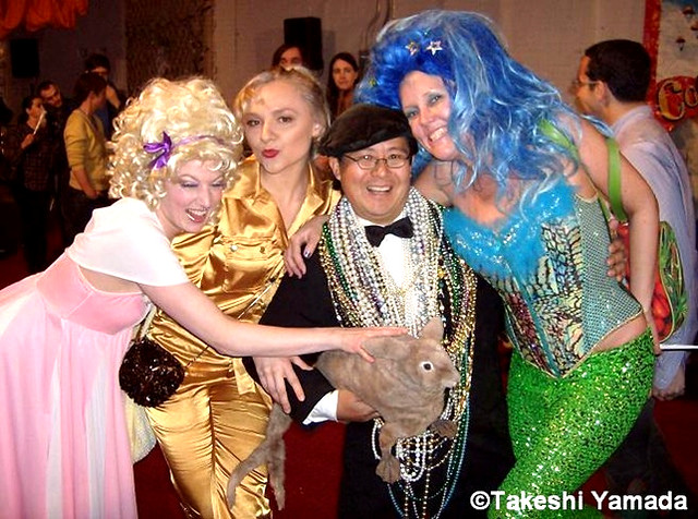 "20080322-5.  ""Pinkie Special"", ""Ekaterina"", Seara (Sea Rabbit), Takeshi Yamada and ""Bambi the Mermaid"""