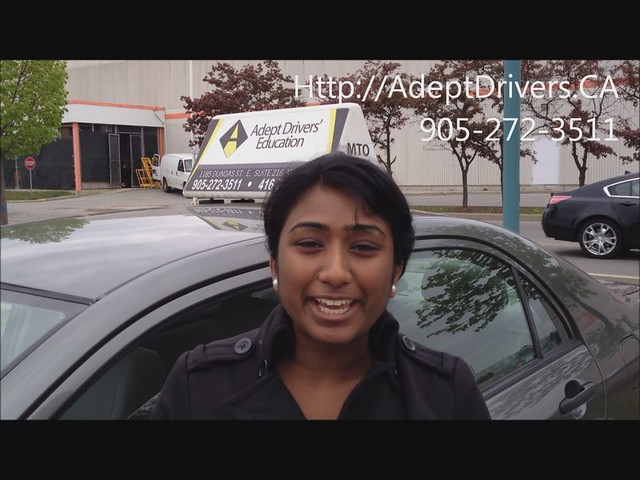 One of the Best Driver Education In Mississauga Student Testimony 2012