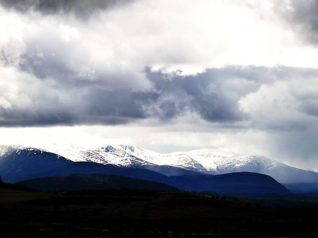 Snow Capped Cairngorms