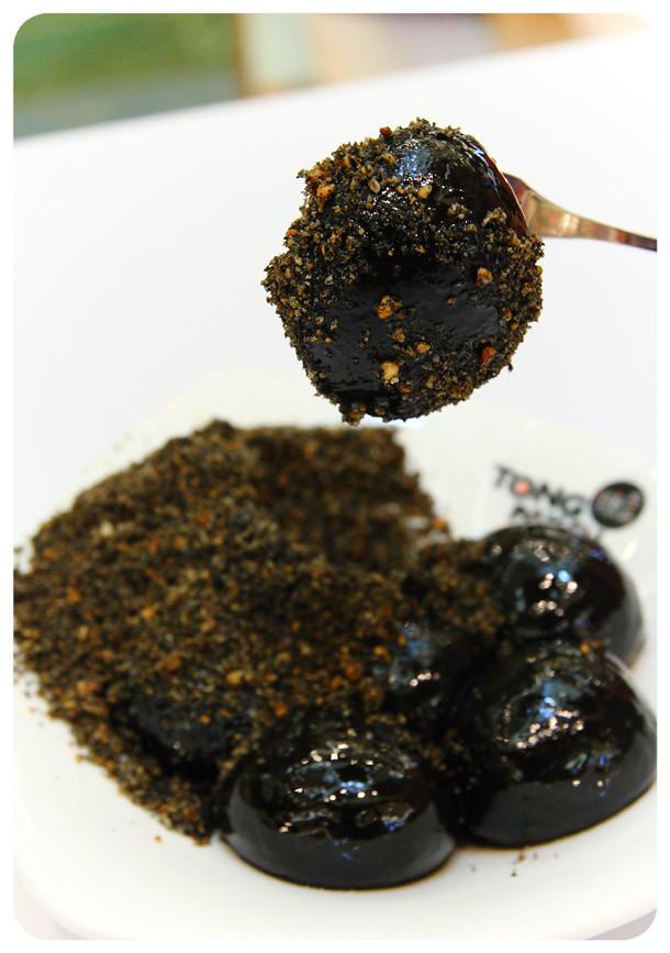 Tong Pak Fu - Glutinous Rice Balls with Black Sesame
