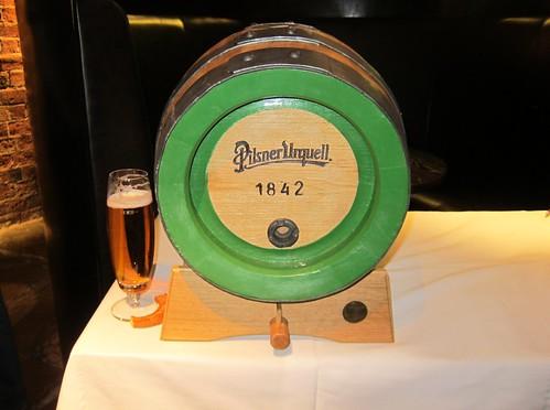 Pilsner Urquell Barrel