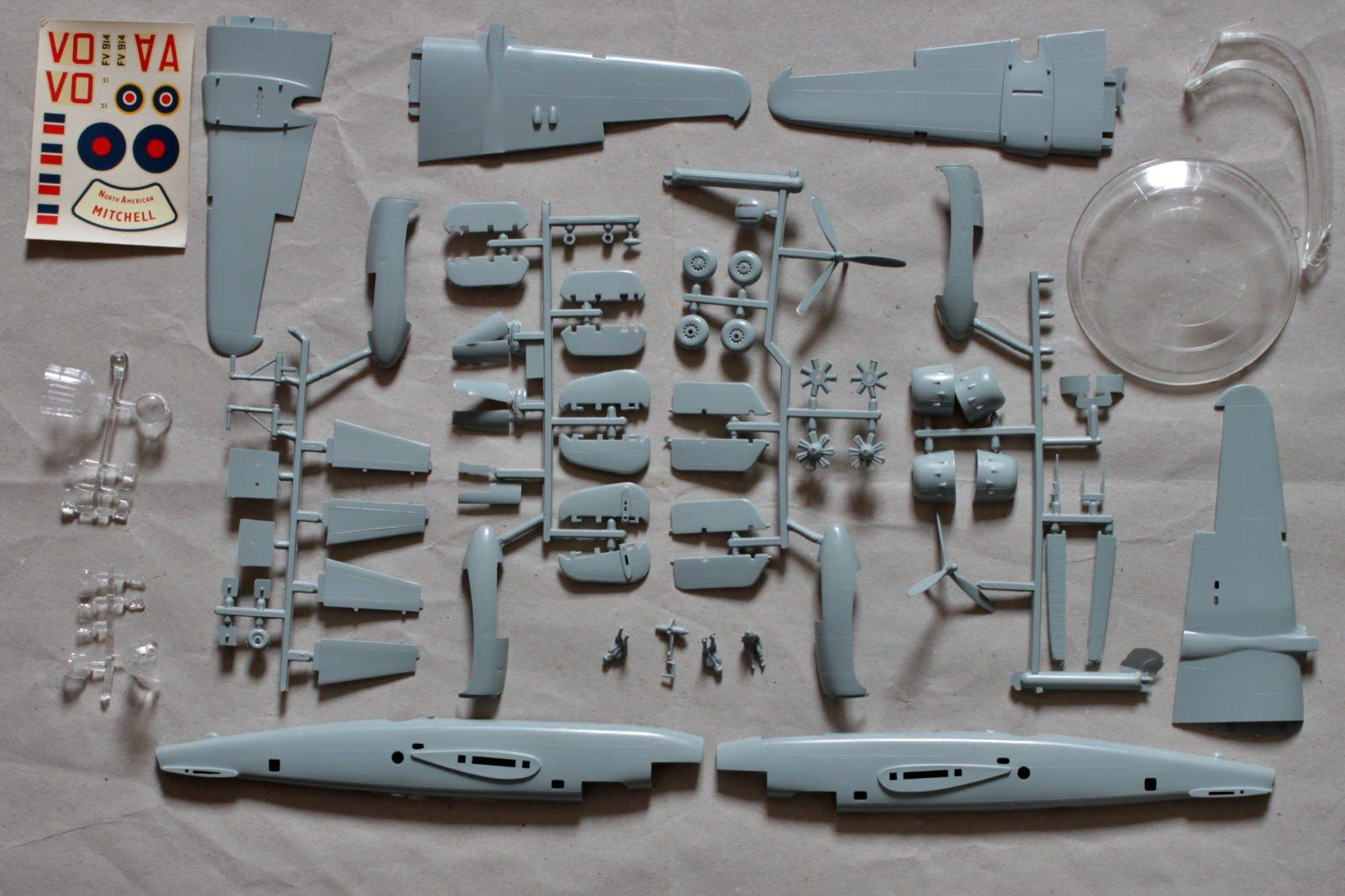 ïèces B-25 Mitchell FROG 1/72