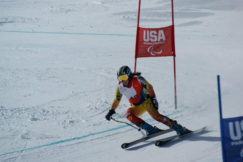Alexandra Starker in Winter Park, USA.