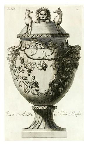 014-Manuale di varj ornamenti componenti la serie de' vasj antichi…Vol 3-1740-Carlo Antonini