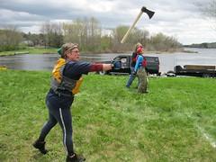 Tomahawk Throw