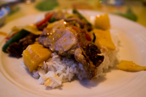 Duck in Pineapple Curry at Chiang Mai Thai