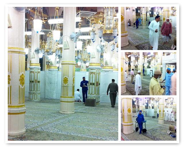 Raudhah ... Masjid Nabawi