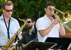 trumpet(0.0), musician(1.0), trombone(1.0), musical ensemble(1.0), musical instrument(1.0), music(1.0), jazz(1.0), brass instrument(1.0),