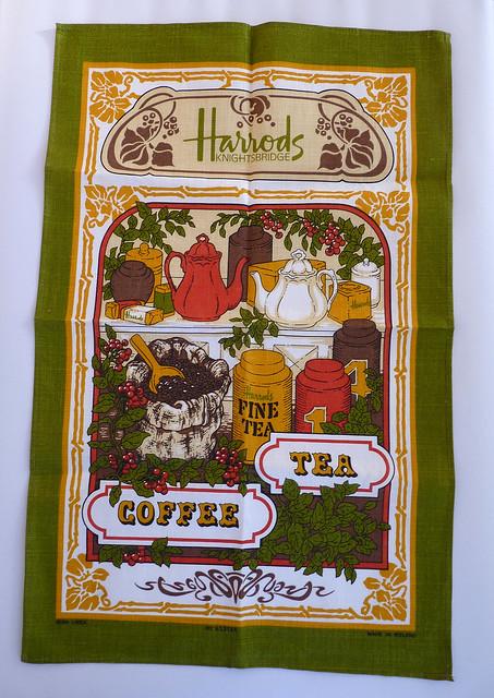 Harrods Tea Towel