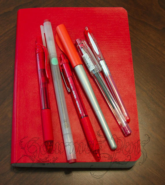 Miquel Rius Red Soft Bound Journal