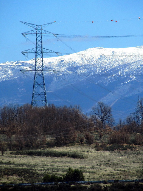 Nieve en las monta�as de Zamora