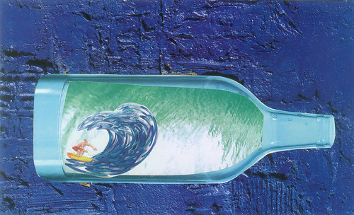 Surfing in the bottle