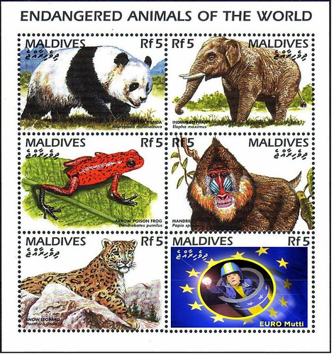 ENDANGERED ANIMALS OF THE WORLD by Colonel Flick