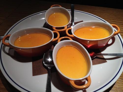 デザートはブラマンジェ オレンジブランデーソース@新 つくって楽しい!ブランデースプリッツァー講座